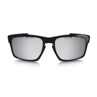 Image of Oakley Sliver Men's Sunglasses - Polished Black Frames/Chrome Iridium Vented Len