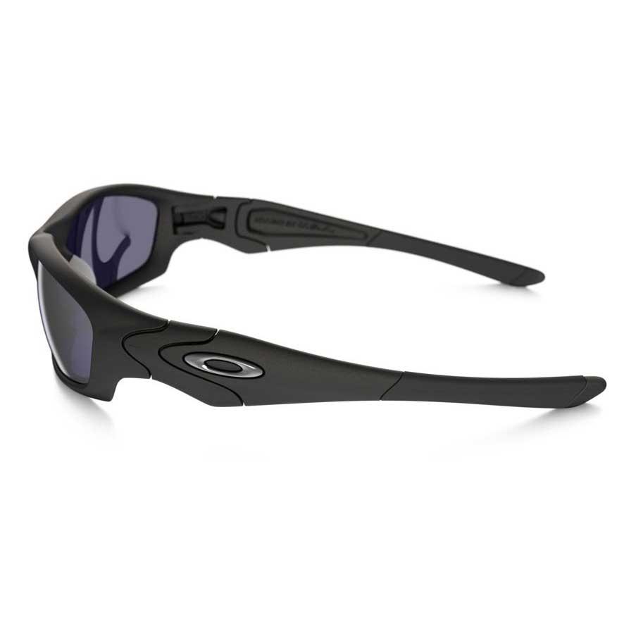 f8111e07b6b ... Image of Oakley Straight Jacket Polarized Sunglasses - Matte Black    Grey Polarized ...