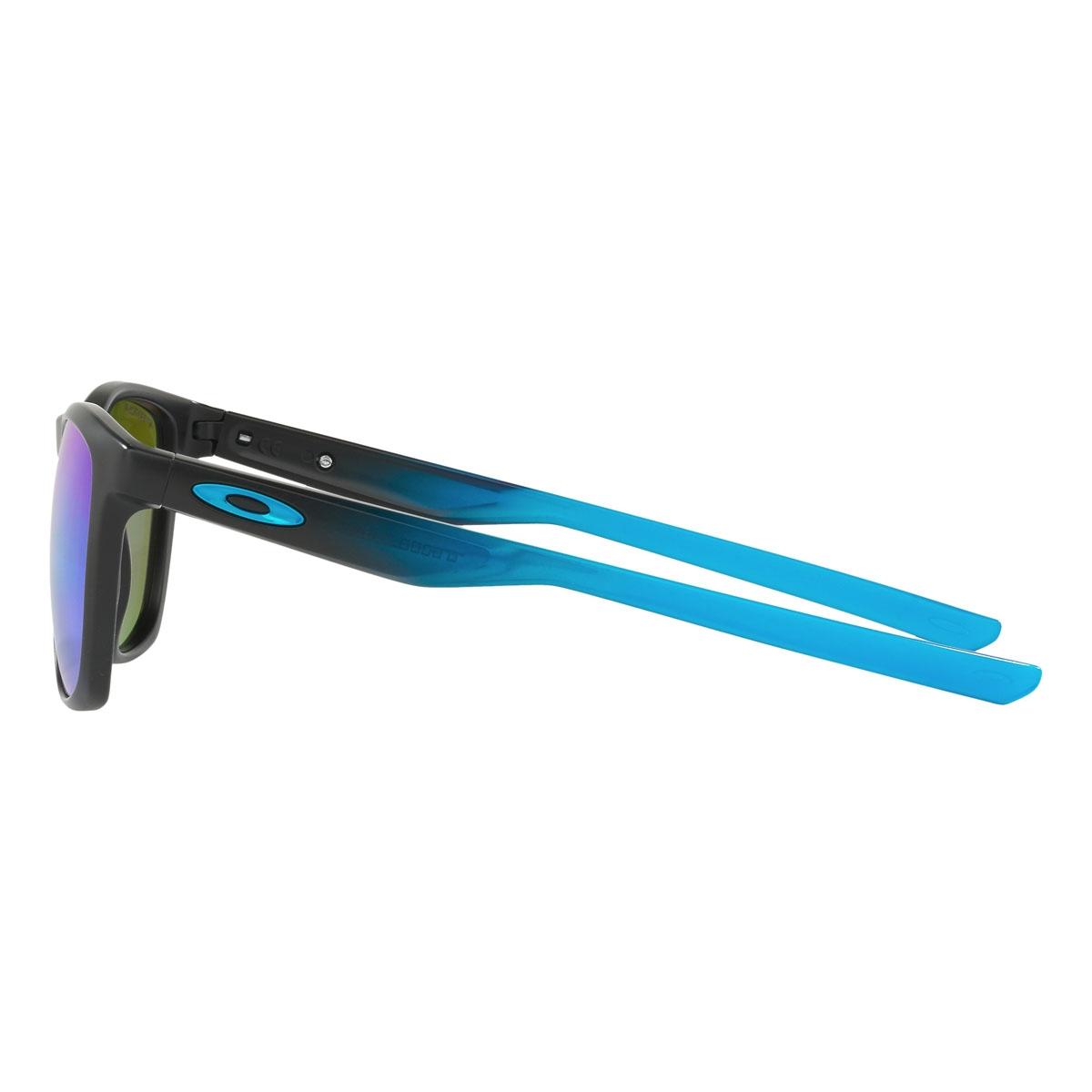 12d12211f06 ... Image of Oakley Trillbe X Prizm Polarised Sunglasses - Sapphire Fade  Frame Prizm Sapphire Polarized ...