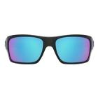Image of Oakley Turbine Sunglasses - Black Ink / Sapphire Iridium