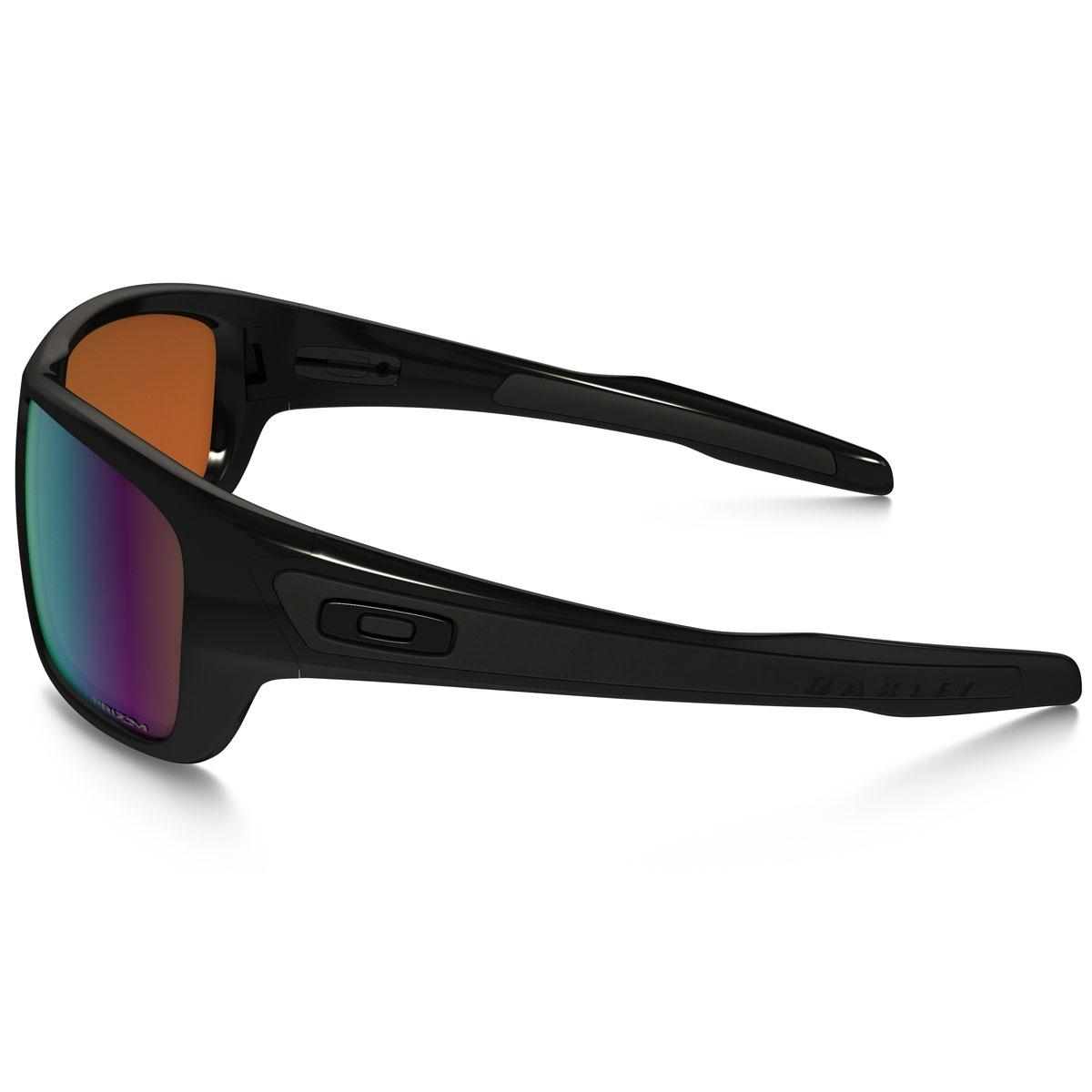 d42ff5b3ce ... Image of Oakley Turbine Sunglasses - Polished Black   Prizm Shallow  Water Polarized