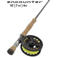 Orvis 4 Piece Encounter Fly Rod Outfit - 10ft - #7