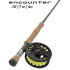 Image of Orvis 4 Piece Encounter Fly Rod Outfit - 10ft - #7