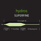 Image of Orvis Hydros Superfine Floating Fly Line