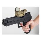 Image of PAO Multi-Reticle Red/Green Reflex Pistol & Rifle Sight - Black