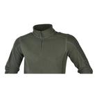 Image of Ridgeline Norwegian 1/4 Zip Fleece Top - Green