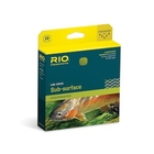Image of Rio Midge Tip Fly Line - Clear Tip / Yellow