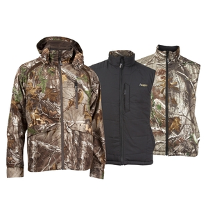 Image of Rocky Pro Hunter Convertible Outdoor Parka and Reversible Vest - Realtree Xtra
