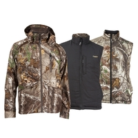 Rocky Pro Hunter Convertible Outdoor Parka and Reversible Vest