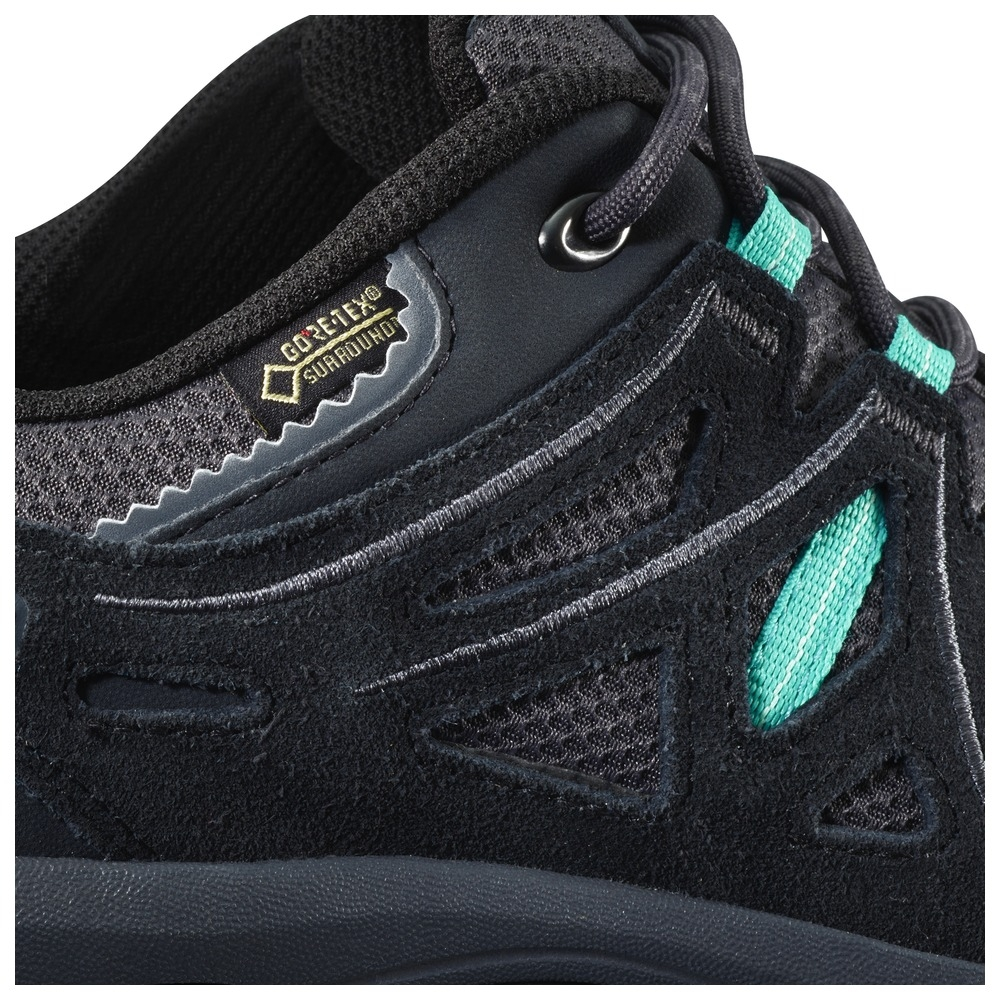 016b2338 Salomon Ellipse 2 GTX Surround Walking Shoes (Women's) -  Magnet/Black/Ceramic