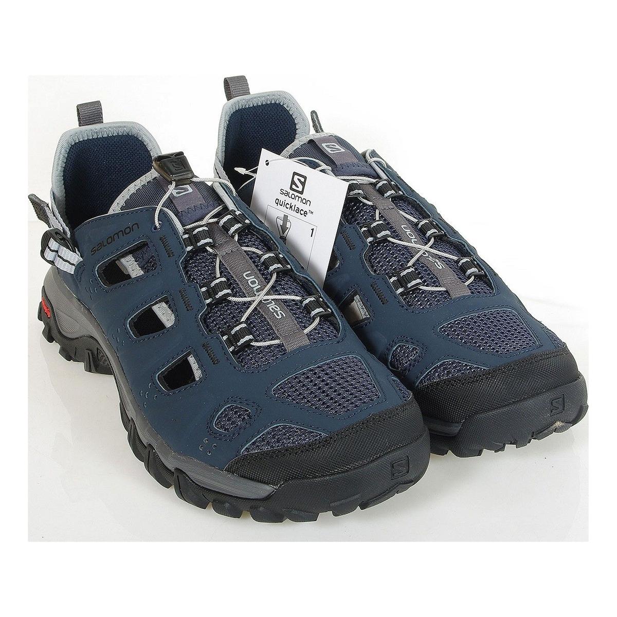 bdf115c7ee91 ... Image of Salomon Evasion Cabrio Shoes (Men s) - Deep Blue Dark Cloud   ...