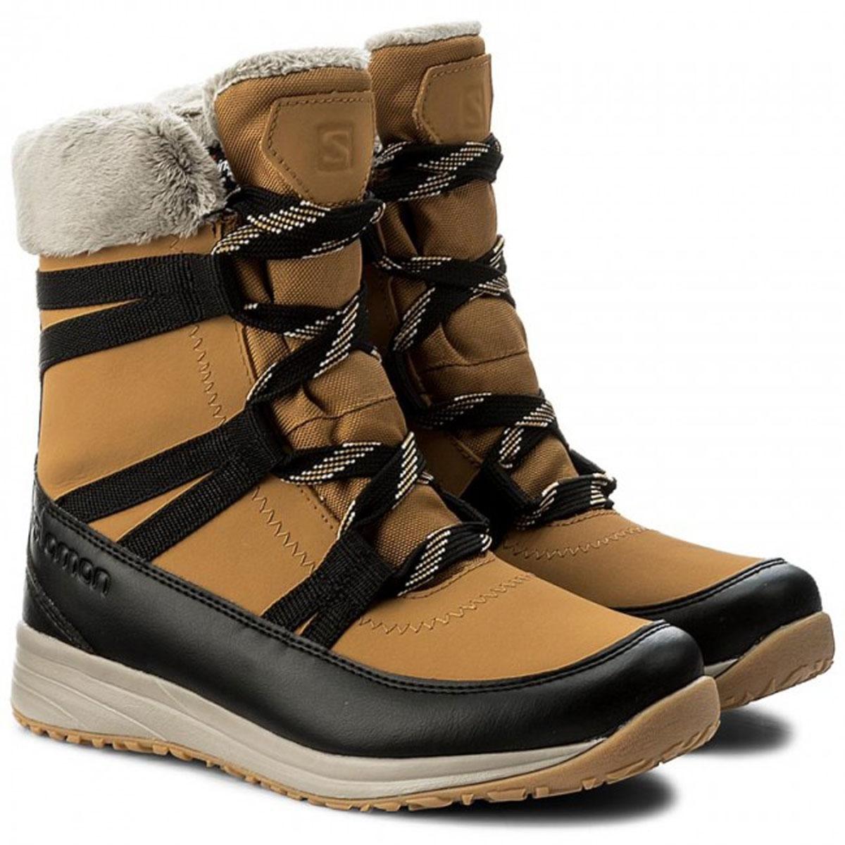 9087f766d3bf ... Image of Salomon Heika LTR CS WP Womens Winter Boots (Women s) - Camel  Gold. «