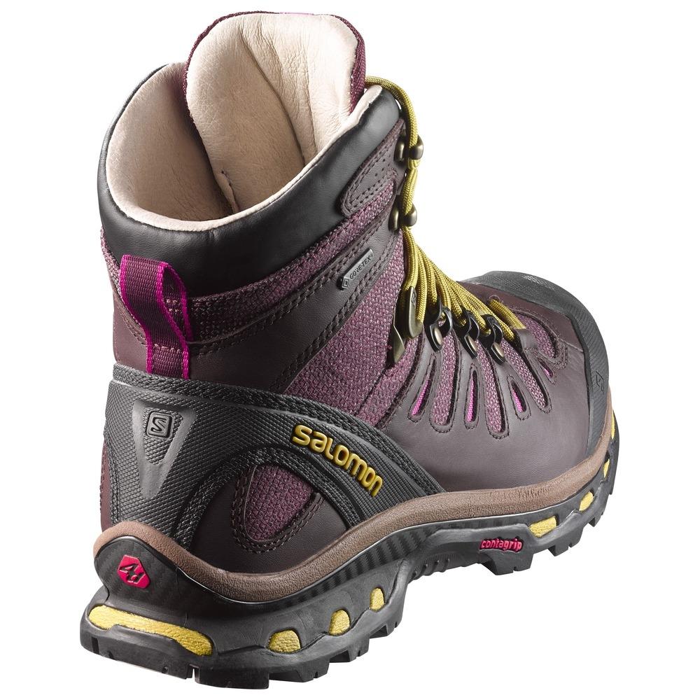 new appearance wholesale online online sale Salomon Quest Origins 2 GTX Walking Boots (Women's) - Pinot Noir / Bitter  Chocolate Leather / Maize
