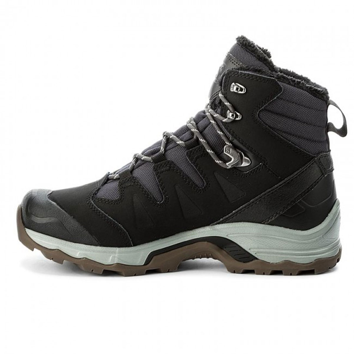 3af6348f57b Salomon Quest Winter GTX Walking Boots (Men's) - Phantom/Black/Vapor Blue