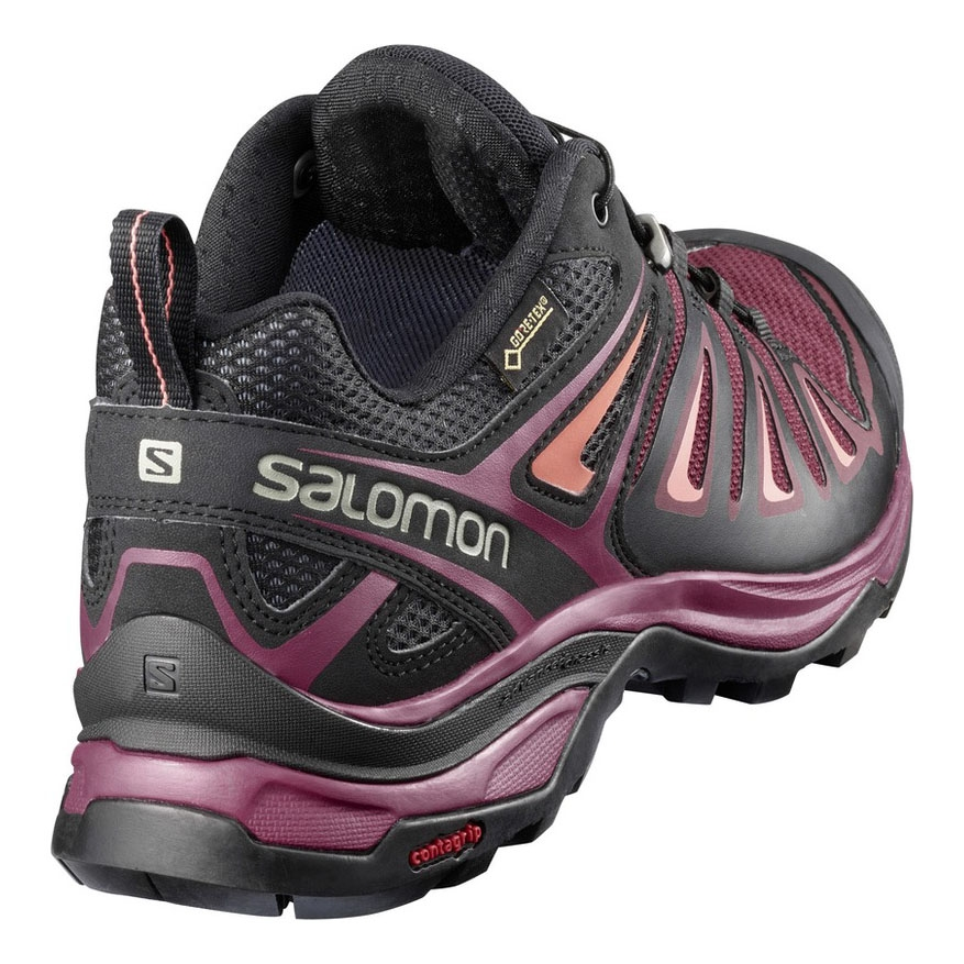 outlet store 07fcb b2ed8 Salomon X Ultra 3 GTX Walking Shoes (Women's) - Tawny Port/Black/Living  Coral