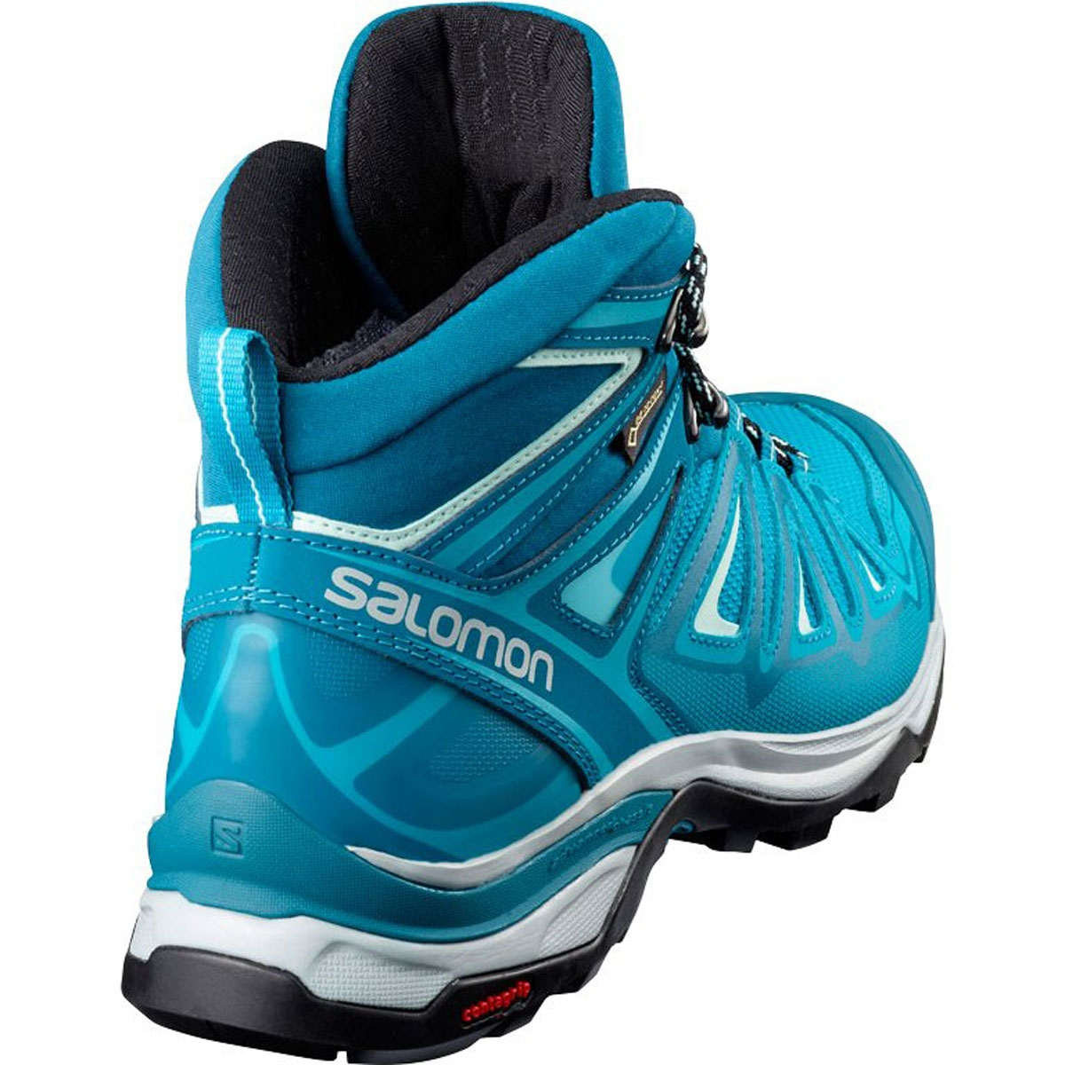 new styles 45882 ace05 Salomon X Ultra Mid 3 GTX Walking Boots (Women's) - Deep Lagoon/Enamel  Blue/Eggshell Blue
