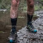 Image of SealSkinz Hiking Mid Mid Socks - Black/Anthracite