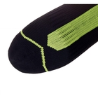 Image of SealSkinz Road Ankle Socks w/Hydrostop - Black/Illuminous