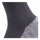 Image of SealSkinz Soft Touch Mid Socks - Black/Grey/White