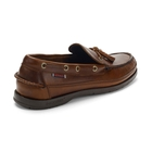 Image of Sebago Ketch Waxed Leather Loafers (Men's) - Brown Oiled Waxy