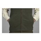 Image of Seeland Woodcock Fleece Waistcoat - Classic Green