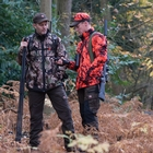 Image of Shooterking Digitex Softshell Jacket - Blaze/Brown