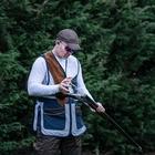 Image of Shooterking Pro-Trap Vest - Blue/White