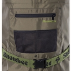 Image of Snowbee 210D Wadermaster Nylon Chest Waders - Cleated Sole - Sage Green