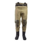 Image of Snowbee Classic Neoprene Cleated Bootfoot Chest Waders
