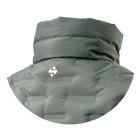 Image of Snowbee Nivalis Down Jacket - Collar Model - Dark Olive
