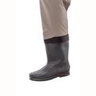 Image of Snowbee Prestige STX Studded Felt Sole Bootfoot Waders - Grey Olive