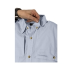 Image of Snowbee Solaris Long Sleeve Fishing Shirt - Pale Sky