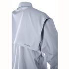 Image of Snowbee Solaris Short Sleeve Fishing Shirt - Pale Sky