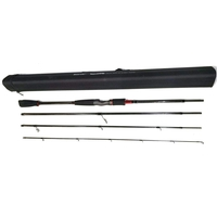 Sonik 4 Piece Magna Travel Spin Rod - 7ft - 2-15g