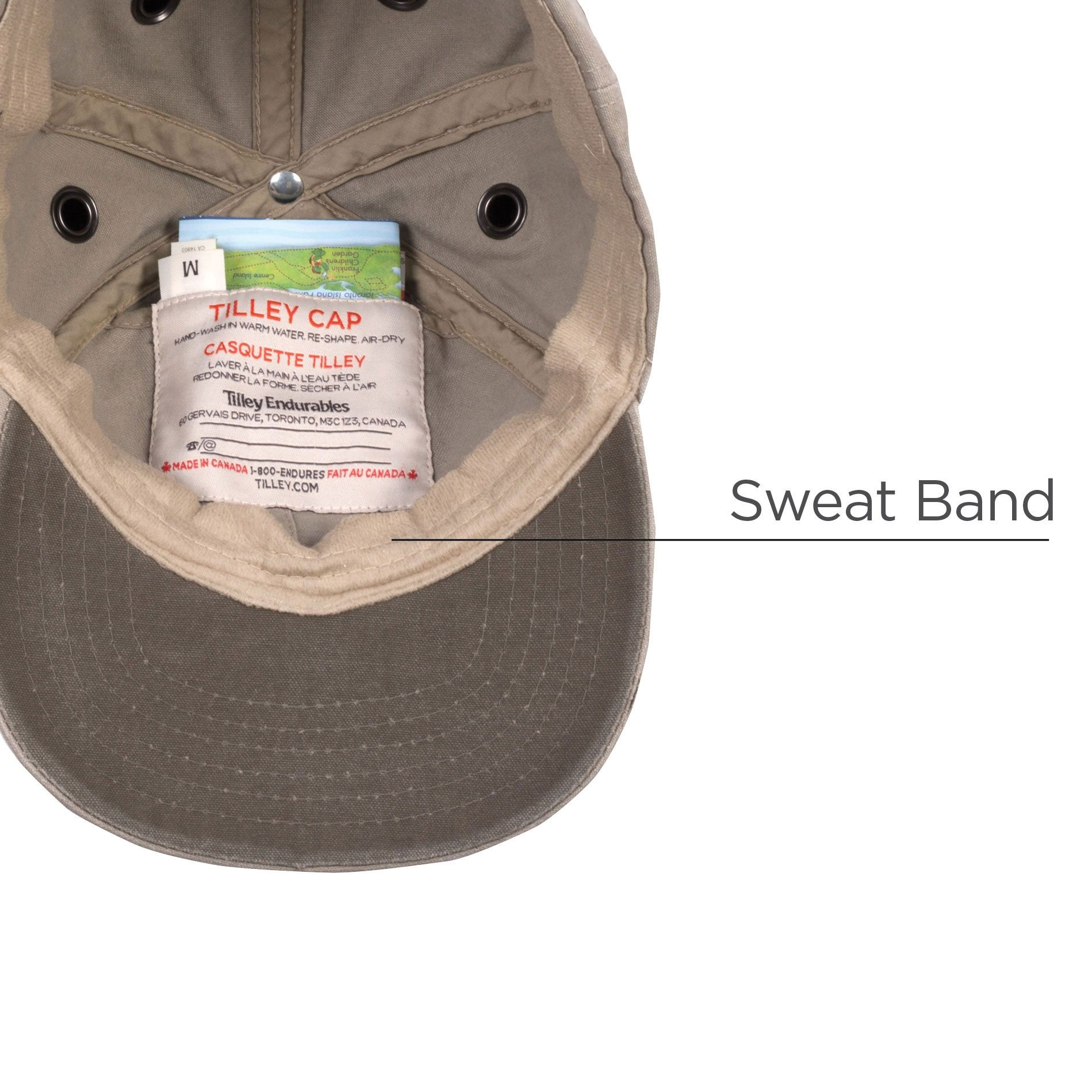 ... Image of Tilley Cotton Duck Enzyme Washed Ball Cap - Khaki fc7355e8bbd