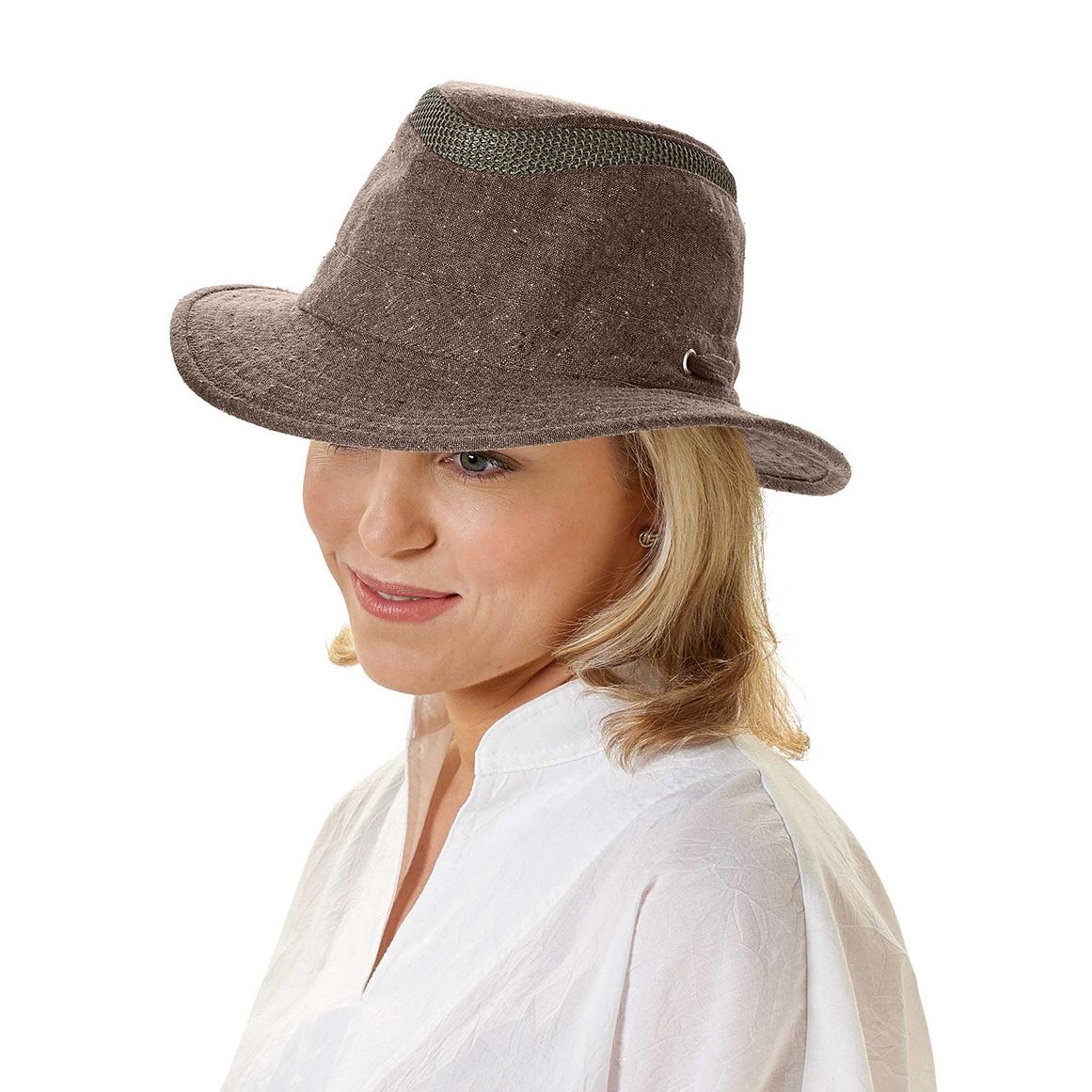 36c81301f Tilley Intermediate Curved Brim Mash-Up Hat - Brown