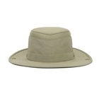 Image of Tilley Medium Brim Snap-Up Lightweight Airflo Hat - Khaki/Olive Underbrim