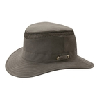 Image of Tilley Medium Curved Brim Organic Cotton Airflo Hat - Olive