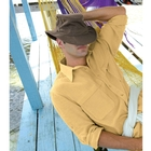 Image of Tilley Medium Curved Brim Hemp Hat - Mocha