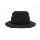 Image of Tilley Medium Curved Brim Tec Wool Winter Hat - Black
