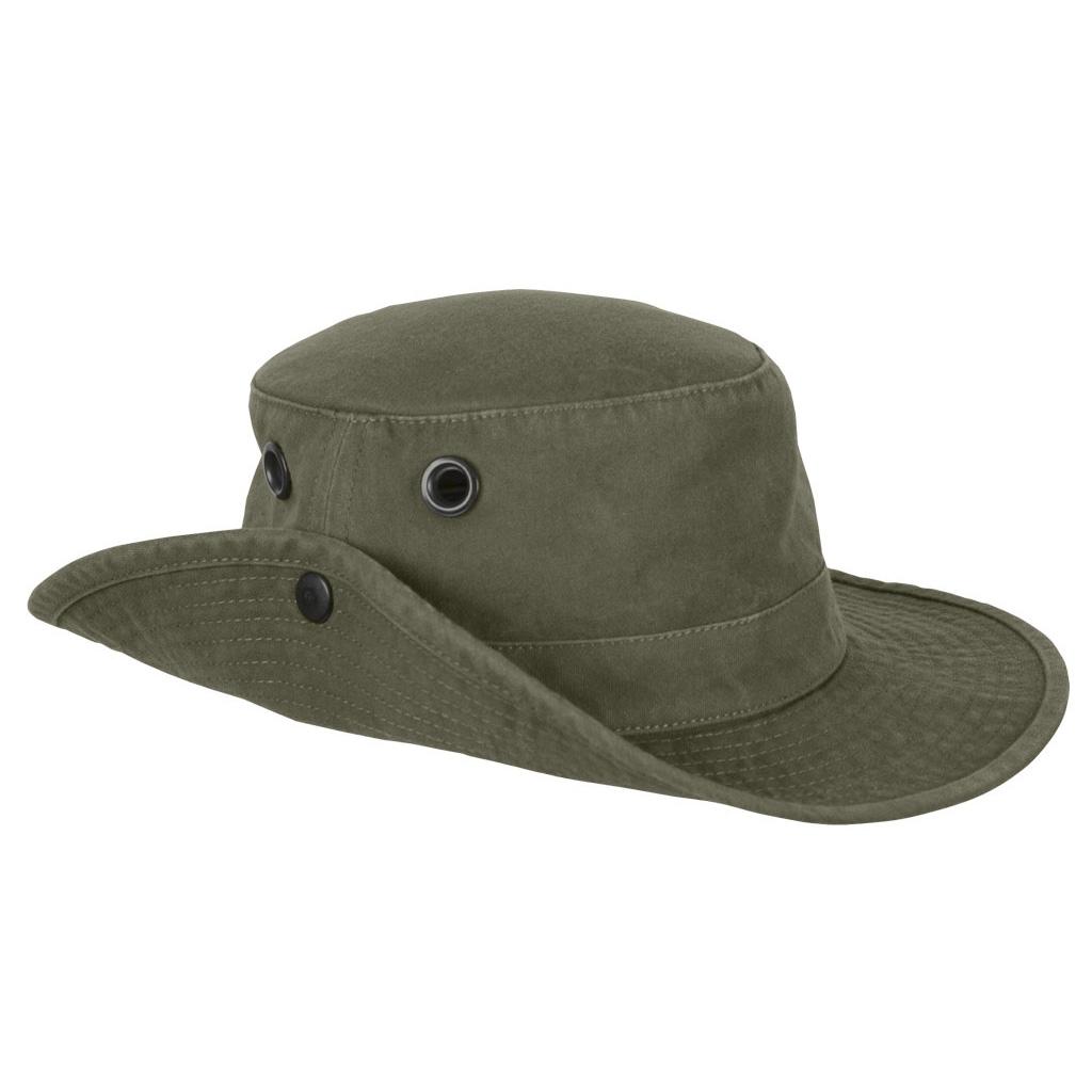 b8d9ee47b12 ... Image of Tilley The Tilley Wanderer Hat - Vintage Olive