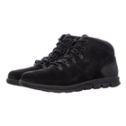 Image of Timberland Bradstreet Hiker Leather Casual Boots (Men's) - Black Nubuck