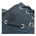 Image of Timberland Chilmark 3 Eye Handsewn Deck Shoes (Men's) - Midnight Navy Barefoot Buffed