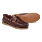 Image of Timberland Classic 2 Eye Boat Shoes (Women's) - Rootbeer Smooth