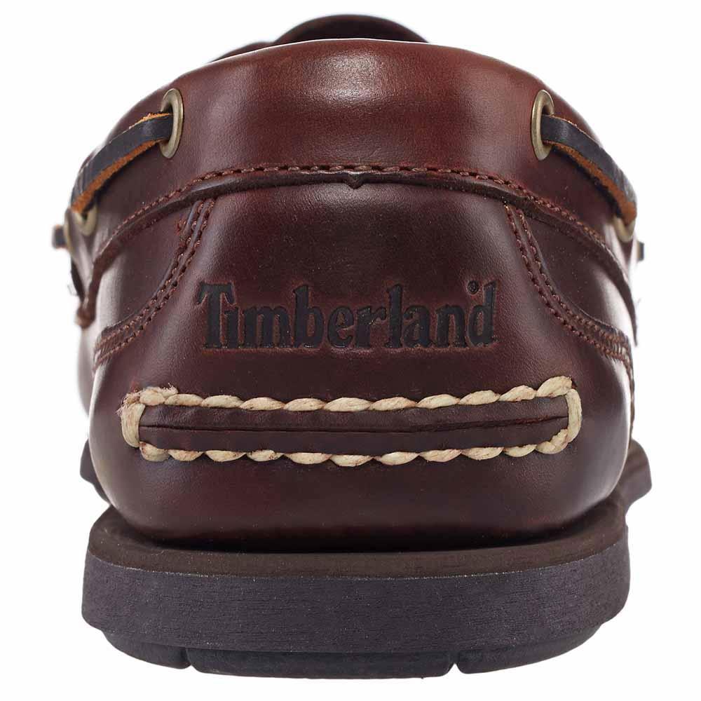 Pero Clasificar Torneado  Timberland Classic 2 Eye Boat Shoe (Men's) - Rootbeer/Smooth Brown |  Uttings.co.uk