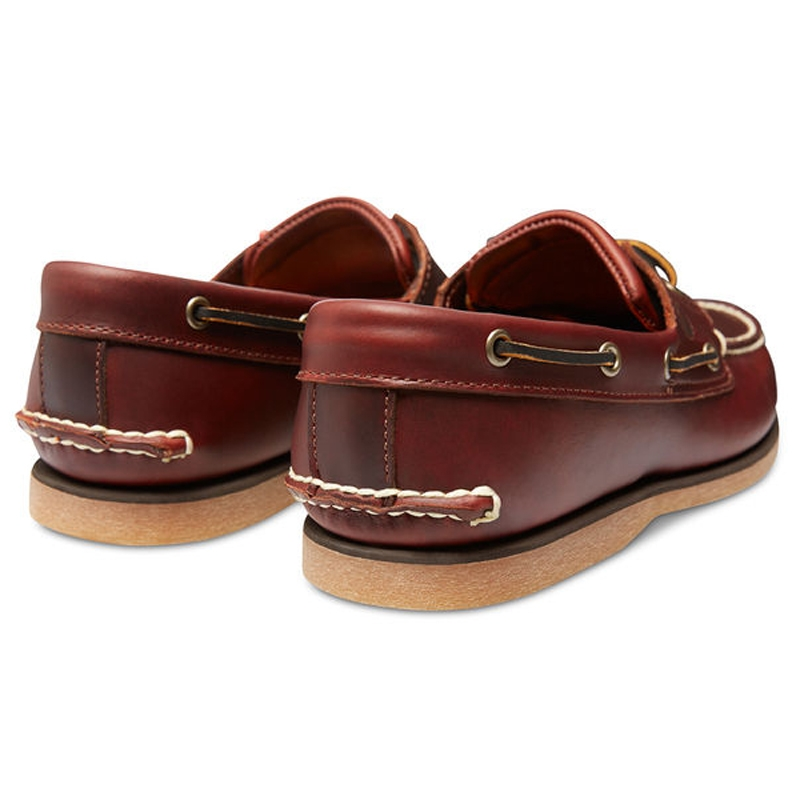 ... Image of Timberland Classic 2 Eye Boat Shoe (Men s) - Rootbeer Smooth. « 6e01a924e357