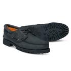 Image of Timberland Classic 3 Eye Lug Boat Shoe (Men's) - Black Nubucks