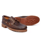 Image of Timberland Classic 3 Eye Lug Boat Shoe (Men's) - Brown Pull Up