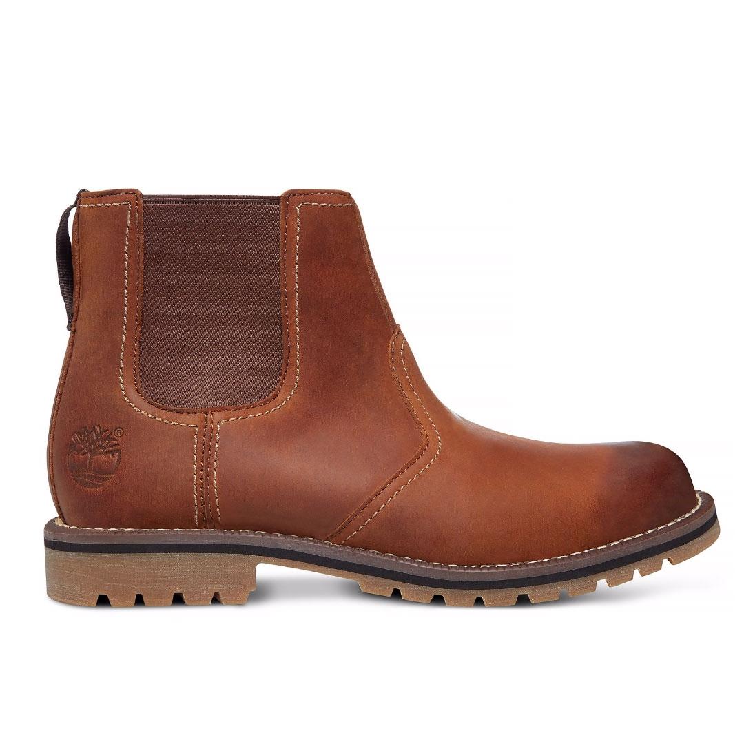 27e513a82d4 Timberland Earthkeepers Larchmont Chelsea Boots (Men's) - Oakwood FG  (Medium Brown Nubuck)