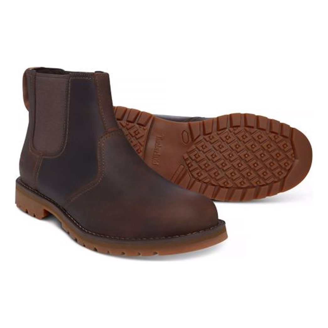 175b72c35fe5 ... Image of Timberland Earthkeepers Larchmont Chelsea Boots (Men s) -  Gaucho Saddleback (Dark Brown ...